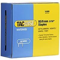 Tacwise 0382 - Grapas galvanizadas de tipo 80/8 mm de largo