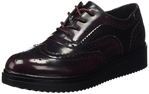 XTI Donna Zapato Sra. C. Burdeos . Scarpe Rosso Size: 37