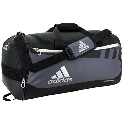 adidas Team Issue Duffel Bag, unisex - erwachsene, Anchor Grey, Medium (Polyester 100% Mesh Tricot)