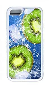 Actinidia Chinensis Iphone 5C White Sides Rubber Shell TPU Case by Sakuraelieechyan
