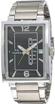 Mens Wristwatch Analog Black Dial Men's Watch-O-56211