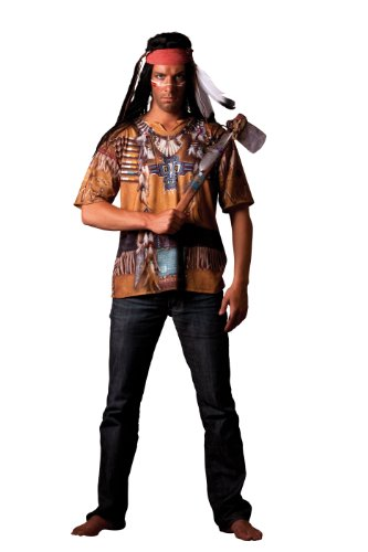 Hilka Cesar B804-007 - Camiseta efecto disfraz de indio, talla 64