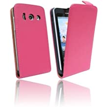 custodia Flip cellulare per Huawei Ascend Y300 rosa Borsa Pieghevole @ Energmix