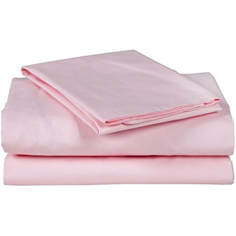 Finition Finition Finition élégante LaxLinens 450 fils 1 jupe plissée chute de lit Longueur   15 cm, un simple 100%  coton Vert perroquet 3cf04d