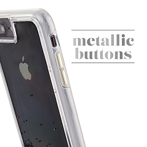Caso nudo iPhone 7 / 6s / 6 di Case-Mate Black Waterfall