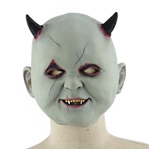 HBOS Halloween Kostüm Maske Klein Teufel Deman Vampir Maske