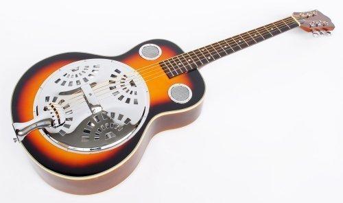 MPM Resonator Gitarre, sunburst