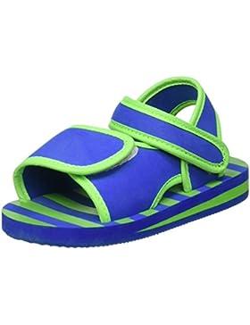 Playshoes EVA Sandale Streifen 171784 Unisex - Kinder Sandalen