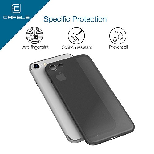 CAFELE Iphone 7 PP Slim Phone Case, Ultra Slim Boîtier Anti-Scratch et Résistant aux Empreintes Digitales Shell (Gris) Gris