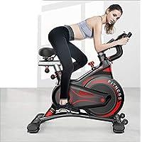 Nfudishpu دراجة دوارة للتحكم المغناطيسي المنزلي، دراجة تمارين التحكم المغناطيسي الصامت، معدات التدريب الرياضية لفقدان الوزن.