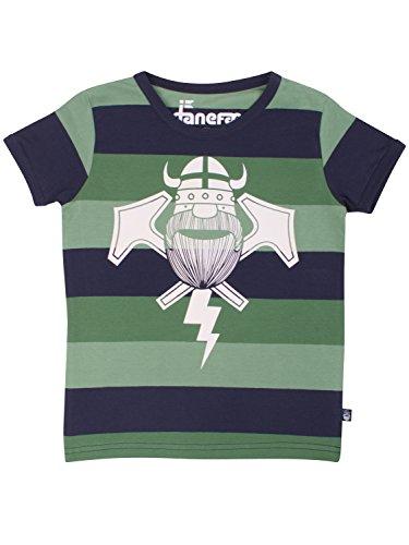 Jungen Polo Shirt Gestreift (Danefae Boy Kurzarmshirt Khaki 10863)