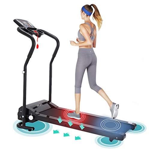 SWEEPID Motorisiertes Laufband Laufband Elektrisch 12km/h LCD Display Puls Fitness Heimtrainer Klappbarer