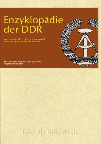 Enzyklopädie der DDR (PC+MAC)