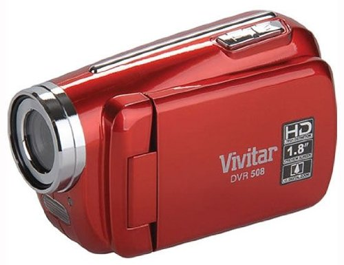 Vivitar High Definition Digital Video Camcorder – Styles and Colors May Vary (DVR508HD)