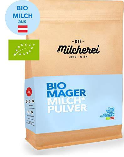 Bio-Mager-Milchpulver MILCHEREI Joghurt-Herstellung Kaffeeweißer Smoothies Backen Regional Österreichische Qualität 800g