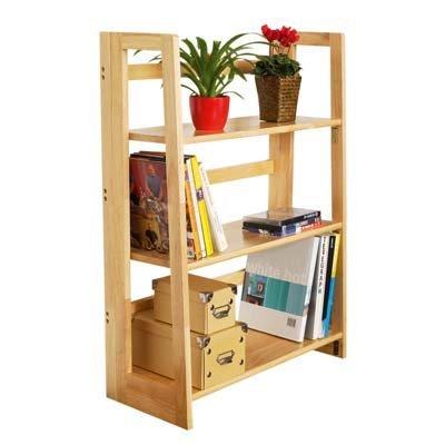 Natural Origins Large 3 Tier Book Shelves Folding by Premeir
