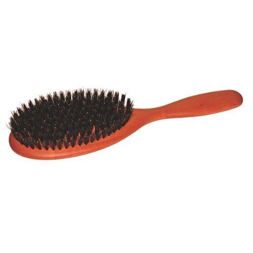 Brosse à Cheveux en poils naturels / Bois de Poirier