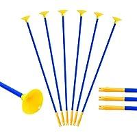 Toparchery Pfeil und Bogen Kinder Set: 10 Pfeile für Bogenschießen Ersatzpfeile Saugnapf