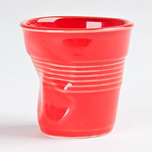REVOL Verre Froissé En Porcelaine Couleur : Rouge Size 12Cl