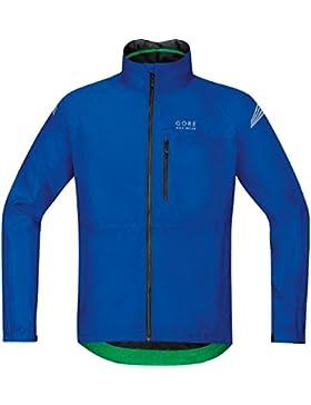 Gore BIKE WEAR Chaqueta para la lluvia, Hombre, Súper Ligera, TEX, Talla M, azul eléctrico, JGMELE600004