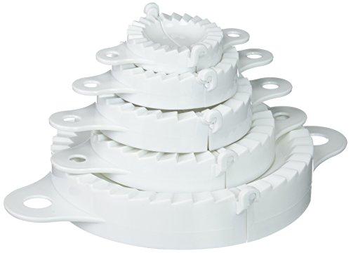 GSD 29 000 Moules à Chausson/Pâte 5 Pièces Plastique Multicolore 17,5 x 17,5 x 10 cm