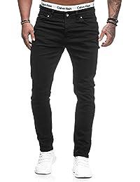 Code47 Herren Designer Chino Jeans Hose Basic Blau Schwarz Grau Stretch  Jeanshose Slim Fit a9213ba2a6