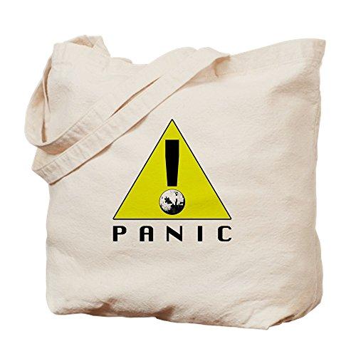 CafePress–panic. At The Disco–Leinwand Natur Tasche, Reinigungstuch Einkaufstasche S khaki