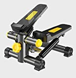 Tree Fitness Mini Stepper-with Resistance Band, leises Laufband Mini Gewichtsverlust...