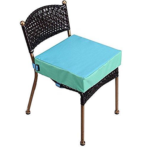 Sitzerhöhung Stuhl for Baby,Zerlegbar und Verstellbare Sitzerhöhung Kinder Stuhl Kinder Sitzkissen for Stuhl (Blau)
