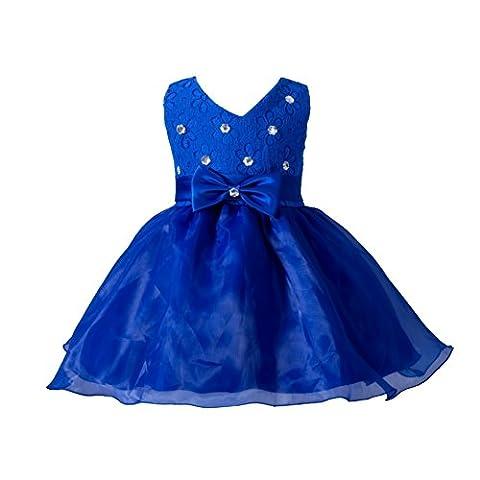 ESHOO 0-24 Monate Baby Mädchen Bowknot Hochzeit Brautjungfer Prinzessin Tutu