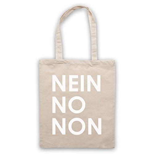 Inspiriert durch Nein No Non As Worn By Thom Yorke Radiohead Inoffiziell Umhangetaschen Naturlich