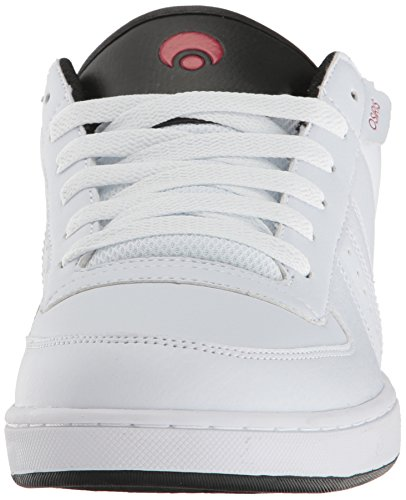 Osiris Relic White/Black/Red Bianco