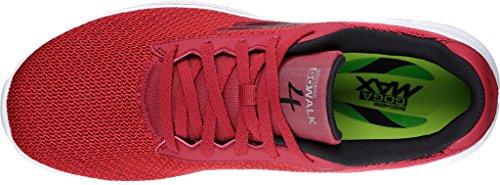Skechers Herren Go Walk 4 Sneakers Rot