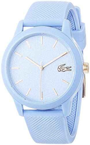 Lacoste Womens Analogue Classic Quartz Watch with Silicone Strap 2001066