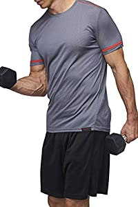 Sundried Men's Training T-Shirt Workout Fitness Clothes