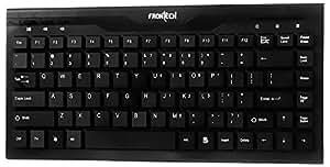 FRONtECH JIL-1677 Multimedia Slim USB Keyboard (Black) for Laptop and Desktop