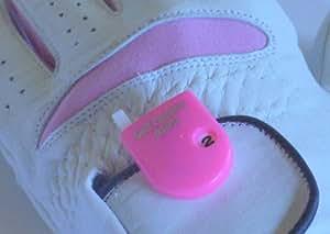 Golf Mini Counter SCORE in Farbe: rosa. Zur Befestigung am Handschuh