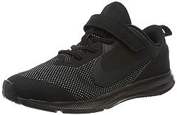 Nike Unisex-Kinder Downshifter 9 (PSV) Leichtathletikschuhe, Schwarz (Black/Black/Anthracite 000), 35 EU