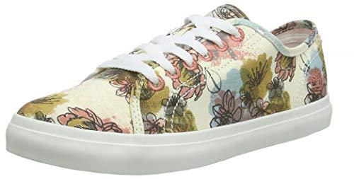 Braun Floral Top (Timberland Damen Newport Bay Sneaker, Braun (Wtrclr Floral/Beige RXT), 39 EU)