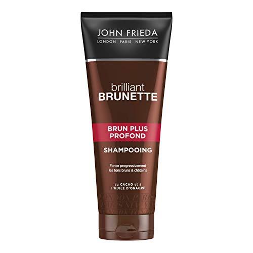 John Frieda Brilliant Brunette Visiblemente más profundo color Profundización Champú 250ml