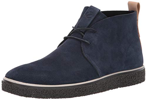 ECCO Herren CREPETRAY Mens Desert Boots, Blau (Marine 5038), 43 EU