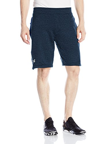 Under Armour Herren Tech Terry Short Kurze Hose, Schwarz, S Blackout Navy (997)