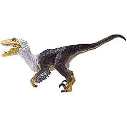 Ousdy - Figura realista de dinosaurio Velociraptor (RC16007D)