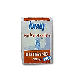 knauf rotband pro gypsum plaster 30 kg diy. Black Bedroom Furniture Sets. Home Design Ideas