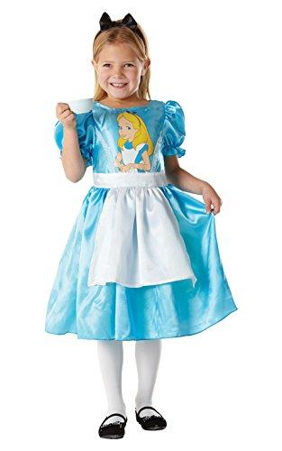 Rubie's Disney-i-883856s-Kostüm Klassische-Alice im Wunderland (Niedliche Alice Im Wunderland Kostüm)