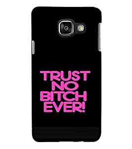 PrintVisa Attitude Quotes Design 3D Hard Polycarbonate Designer Back Case Cover for Samsung Galaxy A3 (2016)