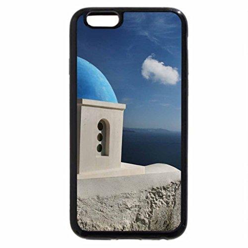iPhone 6S / iPhone 6 Case (Black) santorini church