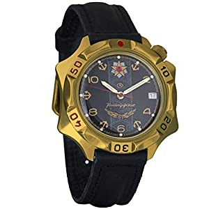 Vostok KOMANDIRSKIE 2414539301Militar ruso reloj mecánico de Vostok Komandirskie