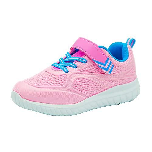 Idea Frames Jungen Schuhe 3D Traillaufschuhe Leicht Outdoor Sneaker Kleinkind Jugendliche Pink 36 EU