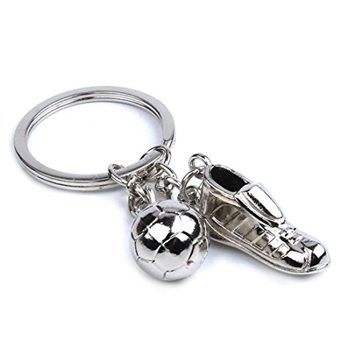 Soccer Shoes Key Chain Sports Key ring Olympic World Cup soccer game Memorial
